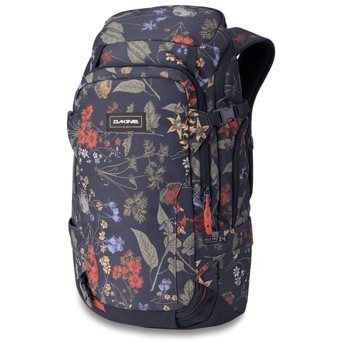 DaKine Women's Heli Pro 24L Ski Snowboard Backpack Botanics PET