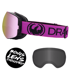 Dragon X2s Goggles (2020) - Raspberry