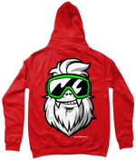 "Load image into Gallery viewer, Funky Yeti Women's Hoodie ""Big Yeti"""