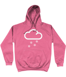 "Funky Yeti Men's Hoodie ""Snow Cloud"""