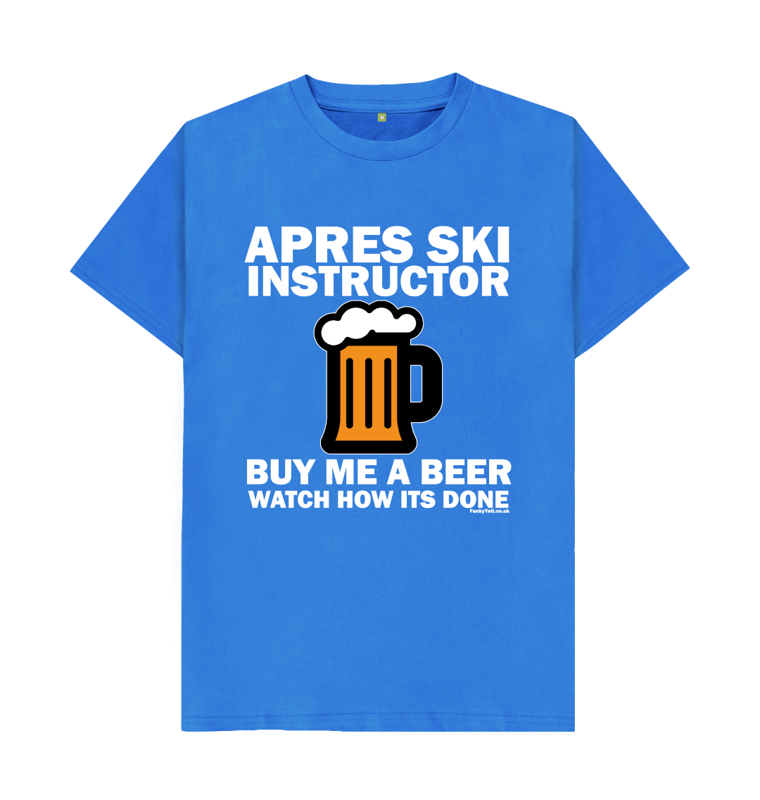 Funky Yeti Men's Apres Ski Instructor Tee