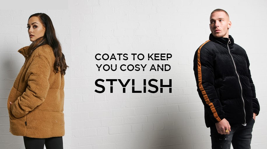 Coats to keep you cosy and stylish!