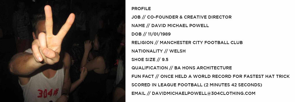 DAVID MICHAEL POWELL PROFILE