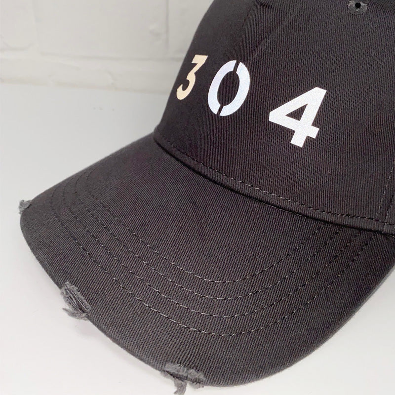 304 Clothing | Silicone Distressed Cap - Steel Grey