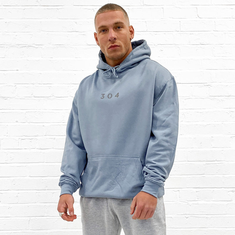 304 Clothing | Core Hoodie Dusty Blue | 304 Mens