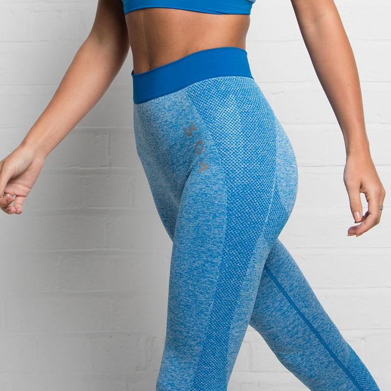 304 Clothing | Active Seamless Legging | Sapphire Blue | Womens