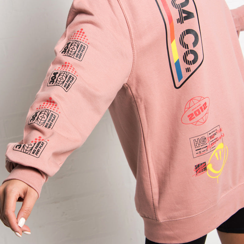 304 Clothing | Retro Dusty Pink Sweater | 304 Womens
