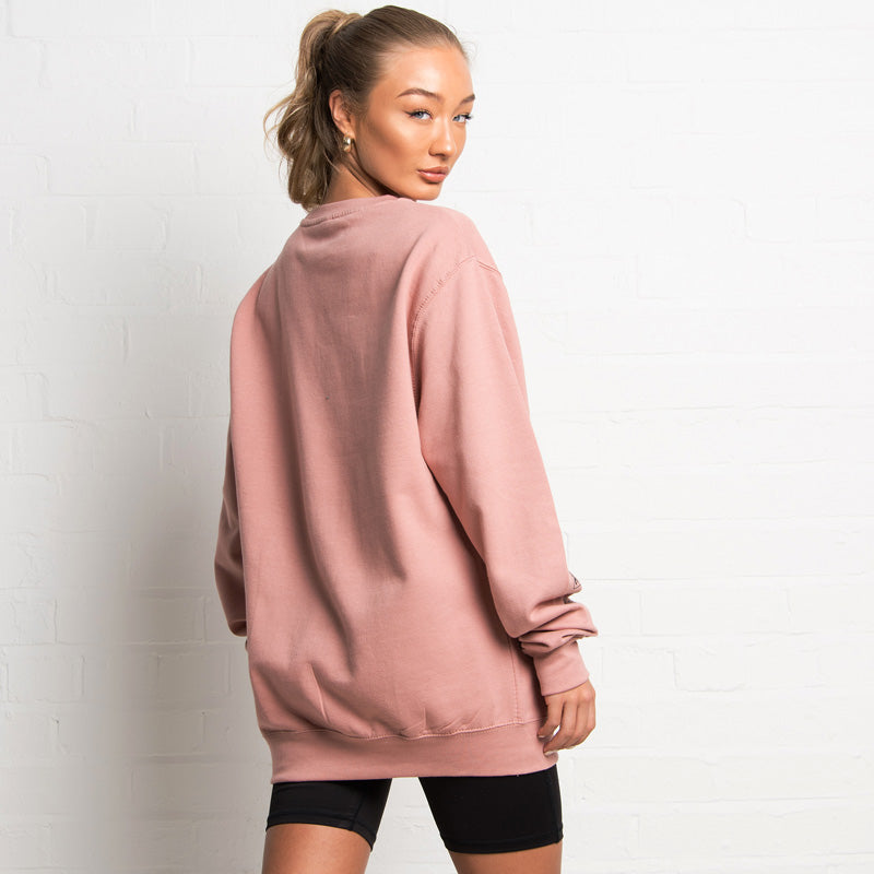 304 Womens Retro Dusty Pink Sweater