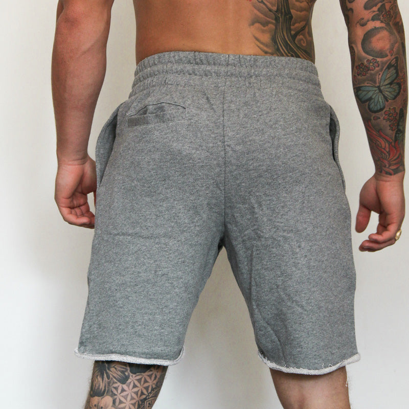 304 Men's Grey Raw Edge Summer Short - Grey | 304