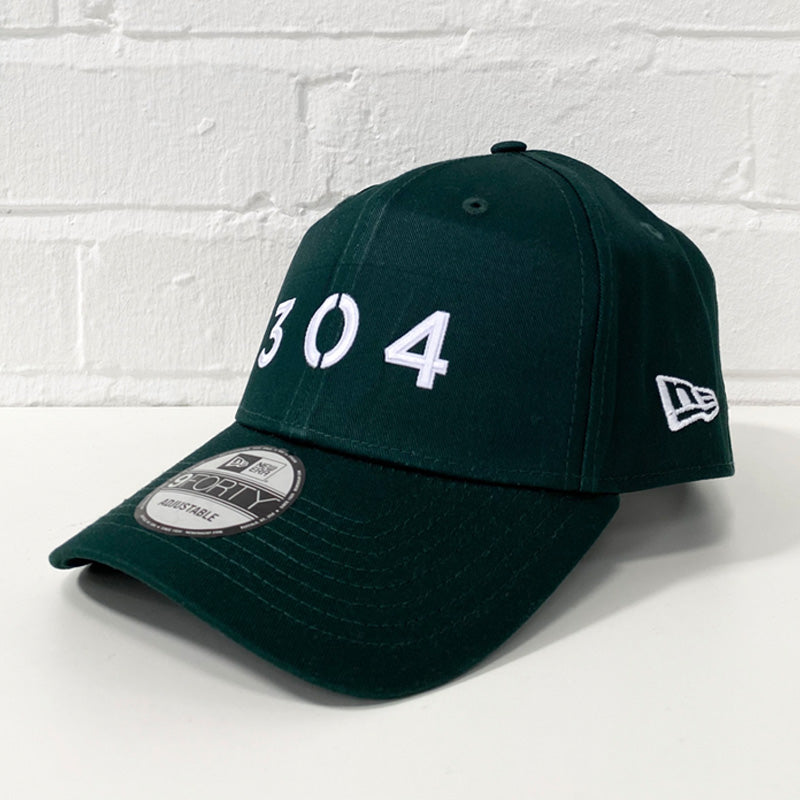 304 Clothing | New Era x 304 Clothing 9FORTY® Cap - Dark Green