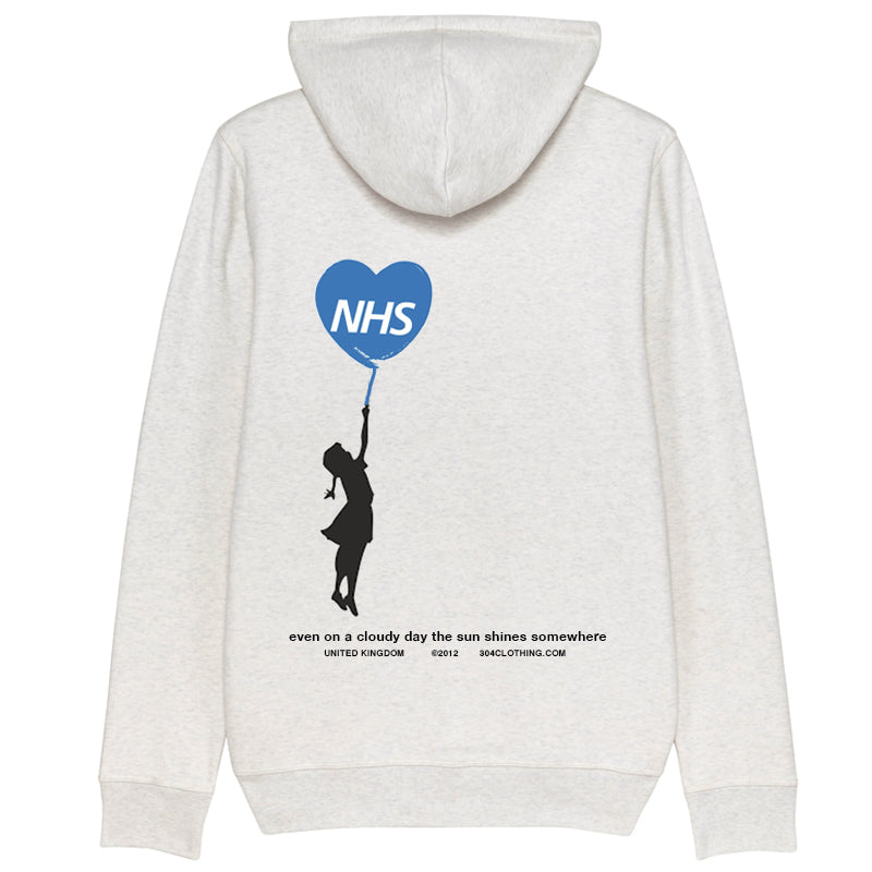 304 Clothing | Supporting NHS Hoodie| Grey