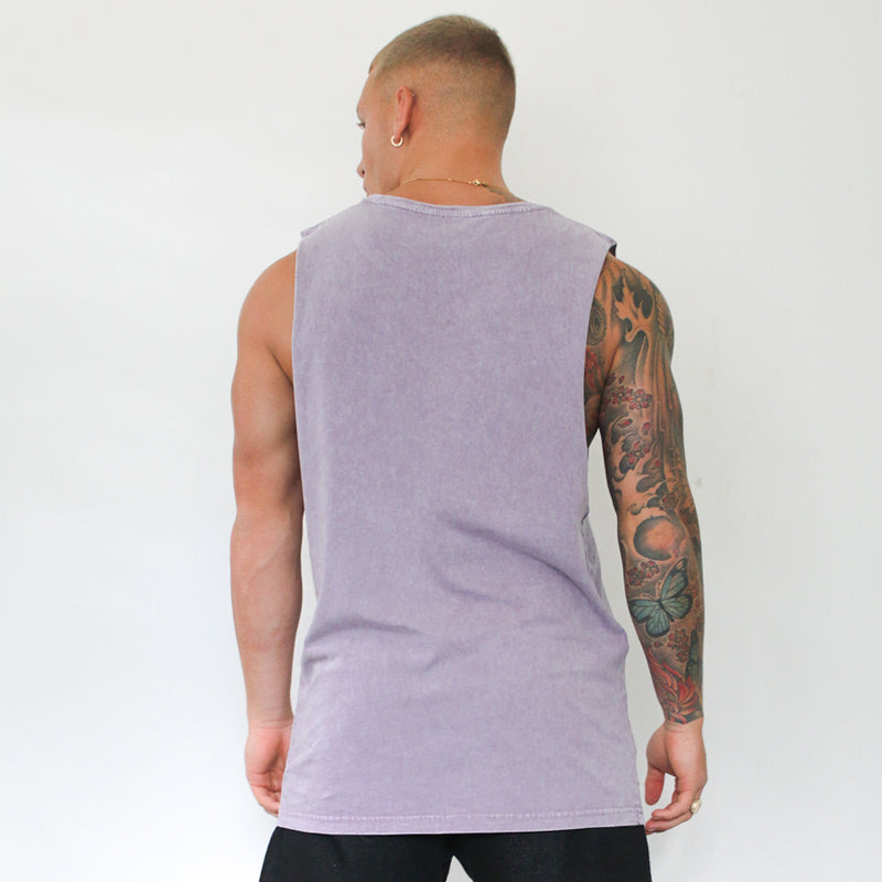 304 Clothing | Stone Summer Wash Vest - Orchid | Mens