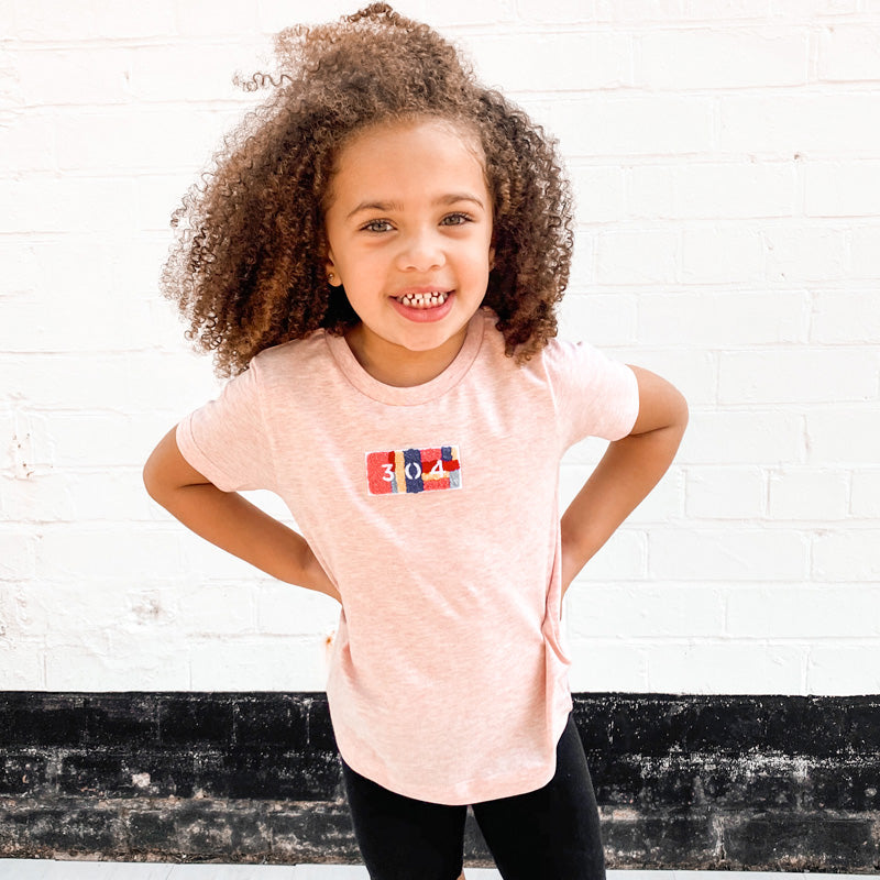 304 Juniors Chenille T-Shirt  - Blush | 304