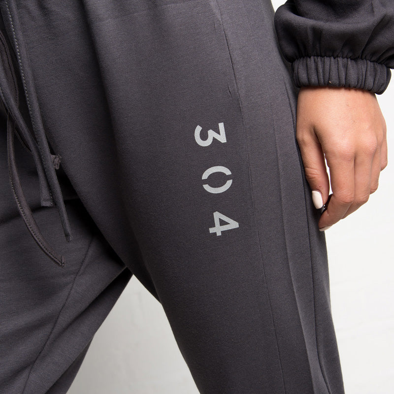 304 Clothing | Lounge Jogger | Steel Grey | Womens