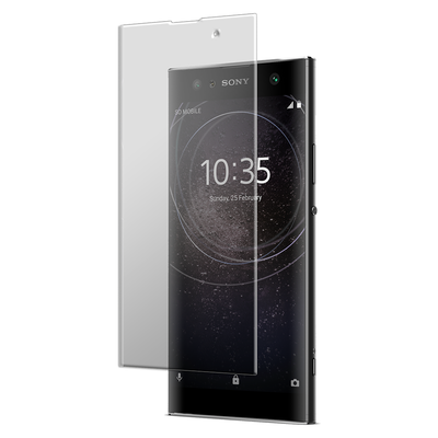Sony Xperia XA2 Ultra - Curved Clear Tempered Glass