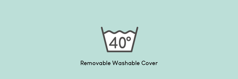 Removable washable cover 40 degrees