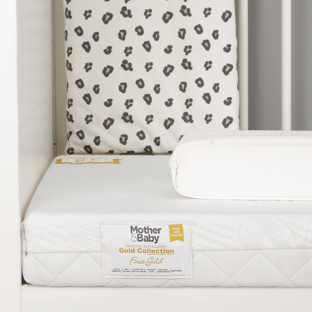 Mother&Baby First Gold Anti-Allergy Foam Cot Mattress 120 x 60cm Mattresses Mother & Baby