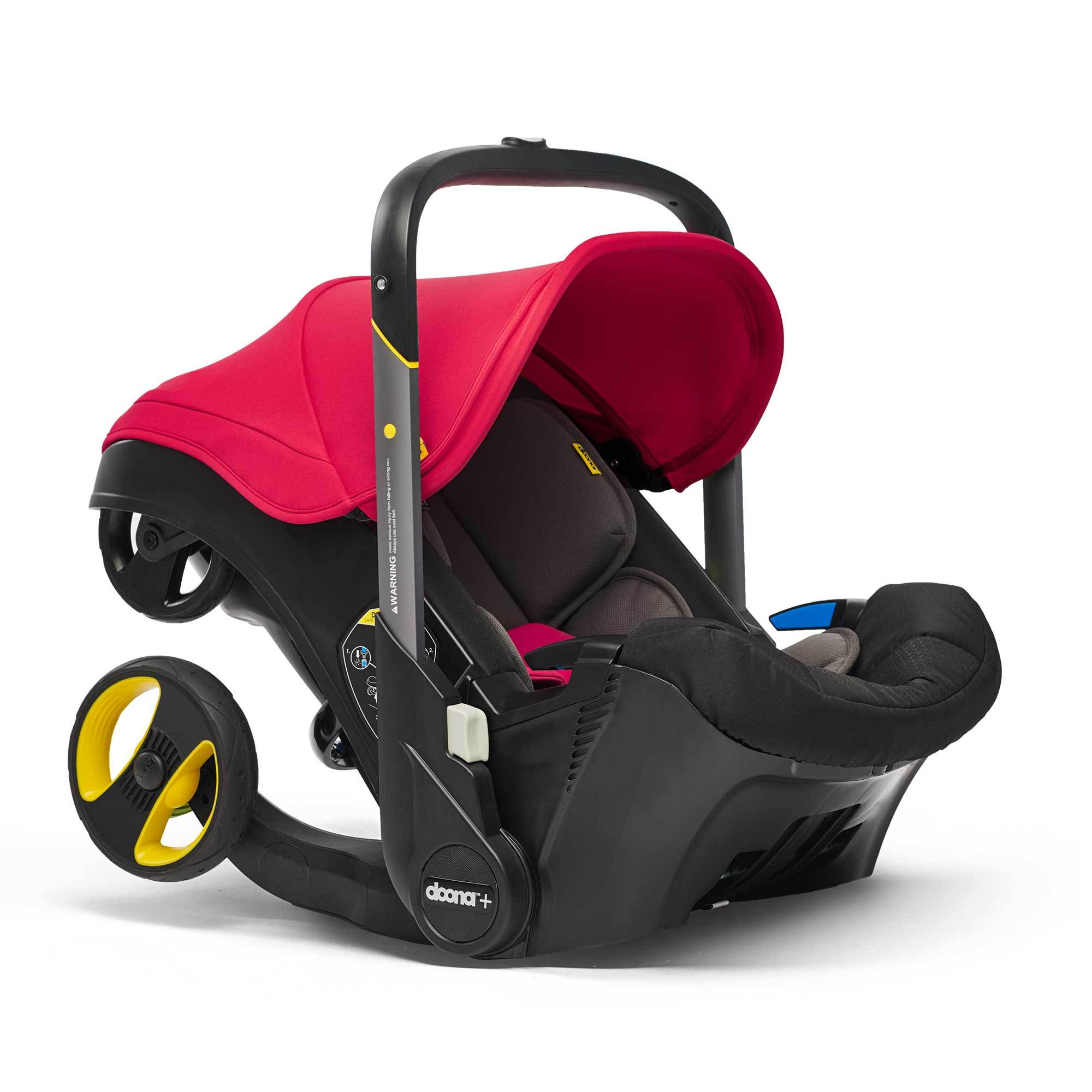 Doona™ Infant Car Seat - ALL NEW 2019 Collection - Flame Red Car Seats Doona