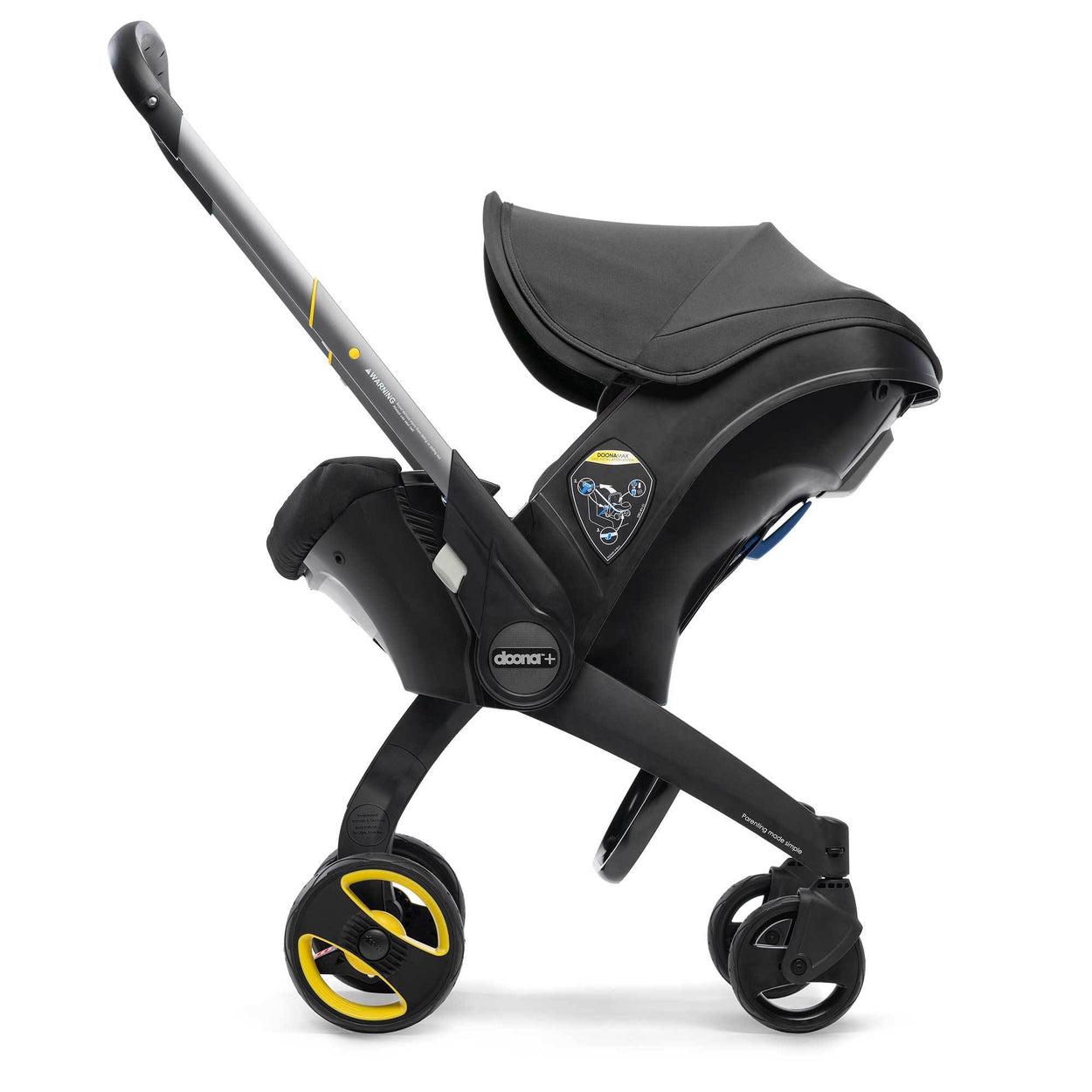 doona infant car seat all new 2019 collection nitro black
