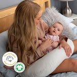 Load image into Gallery viewer, Mother&Baby Gold Collection Feeding and Support Pillow Starter pack Feeding & Support Mother & Baby