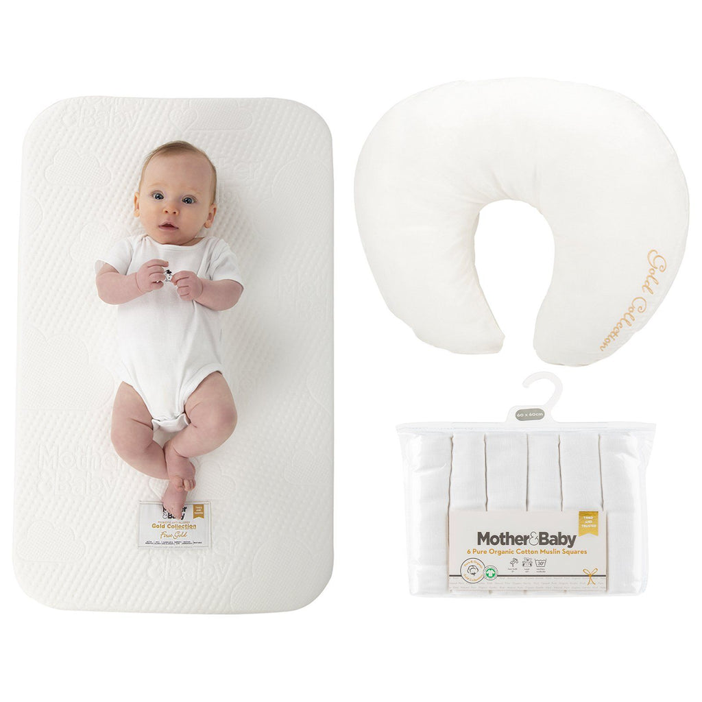 Mother&Baby Co-Sleeper Mattress and Feeding pillow bundle Mother & Baby