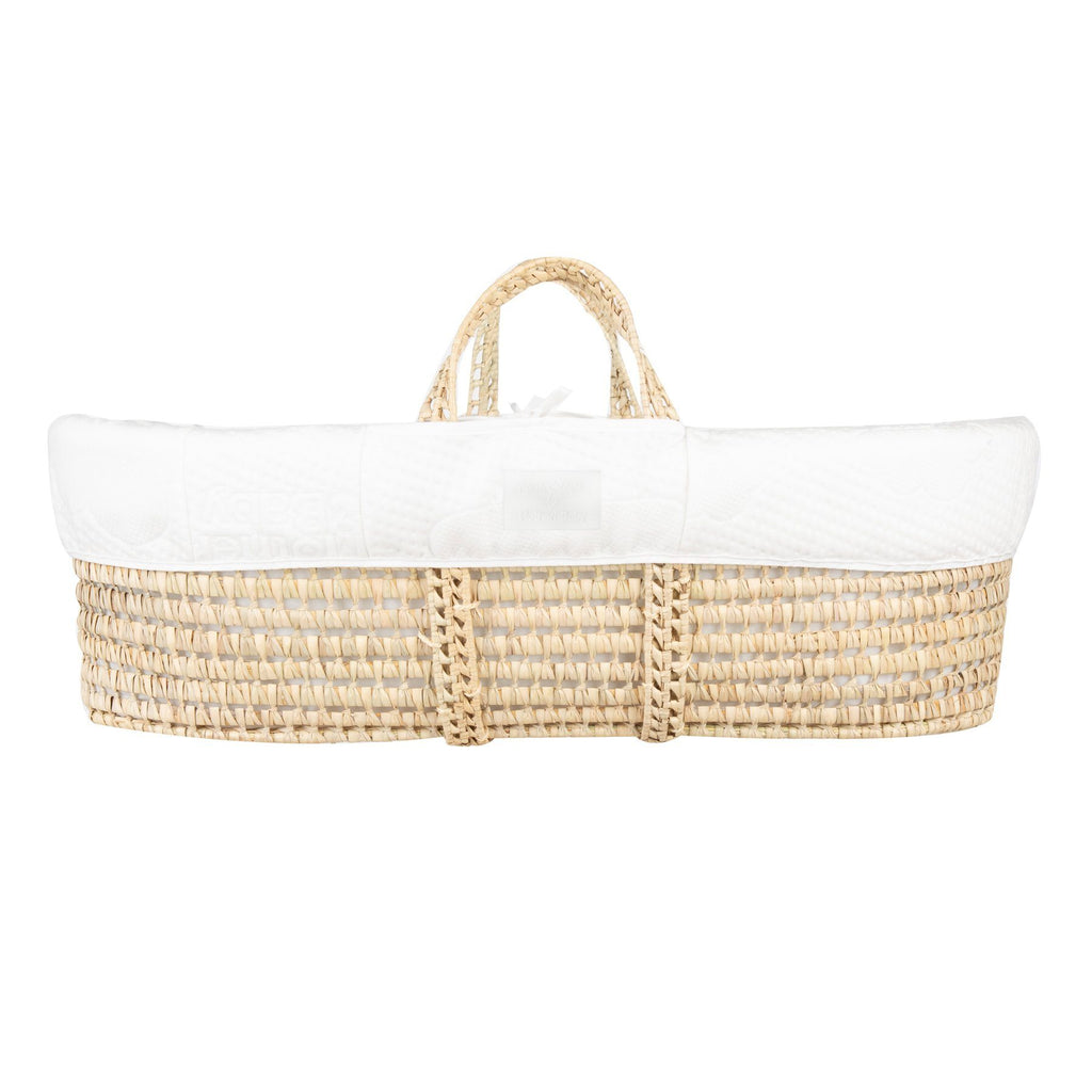 Mother&Baby Anti-Allergy Moses Basket - Natural Furniture CuddleCo