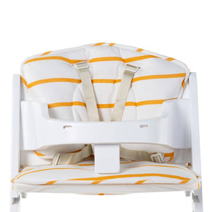 Baby Grow Chair Cushion - Ochre Stripes Childhome
