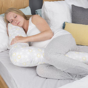 Comfi-Mum Memory Foam V-Shaped Support Pillow - Beehive Feeding & Support cuddleco