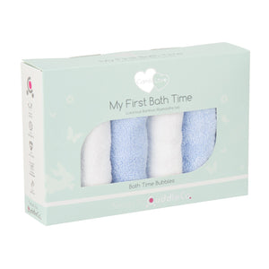 Comfi-Love My First Bath Time - Blue / White Nursery cuddleco