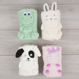 Comfi-Snuggle Blanket- Fluffy the Rabbit Nursery cuddleco