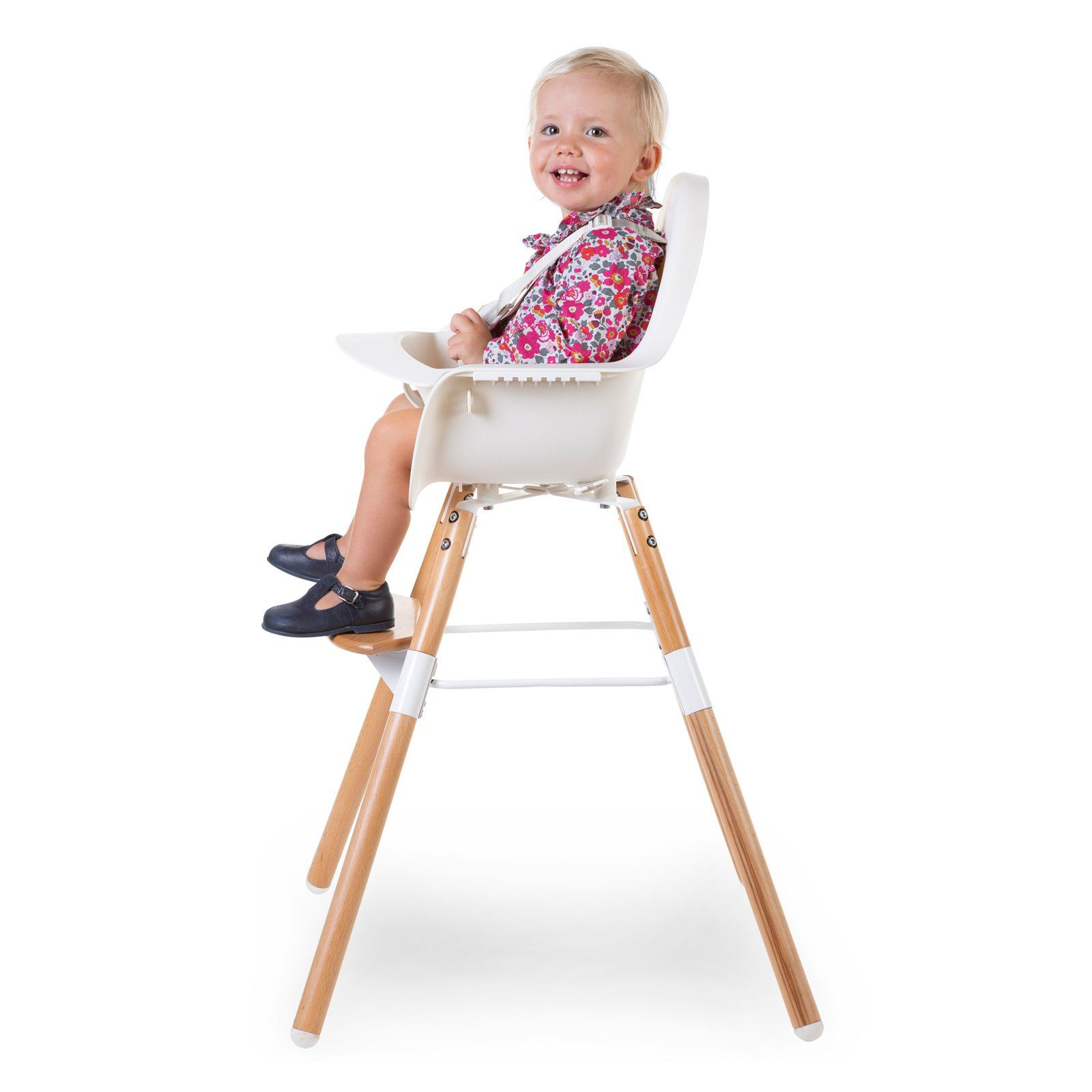 Evolu 2 Highchair - Natural/White Child Home