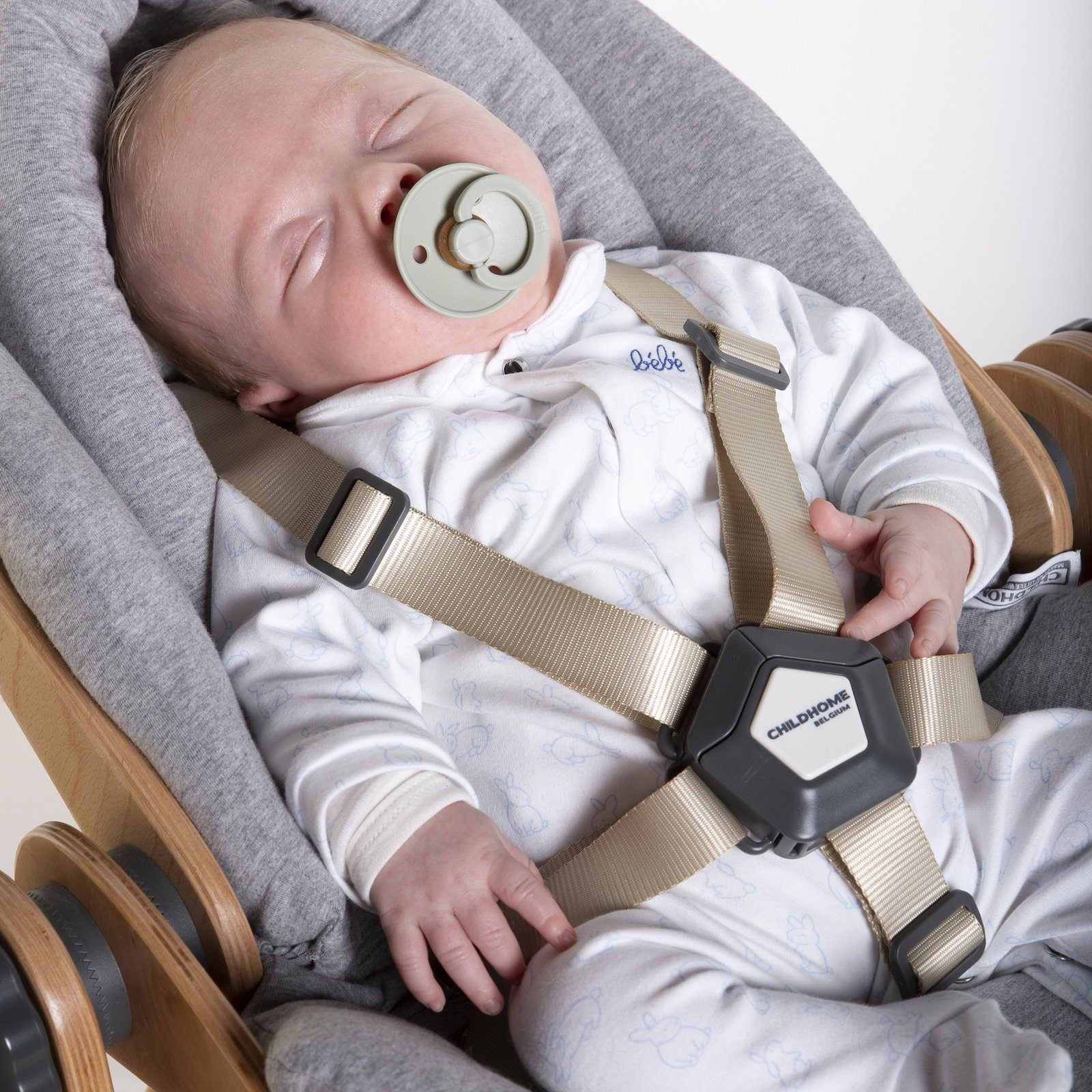 Evolu Newborn Seat - Natural / Anthracite Childhome