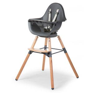 Evolu One.80° Chair - Natural / Anthracite Childhome