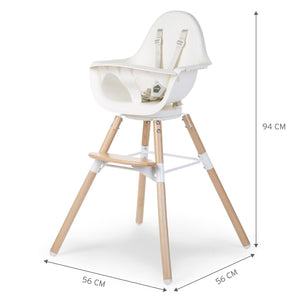 Evolu One.80° Chair - Natural White Child Home