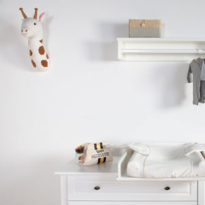 Felt Giraffe Head Wall Deco Childhome