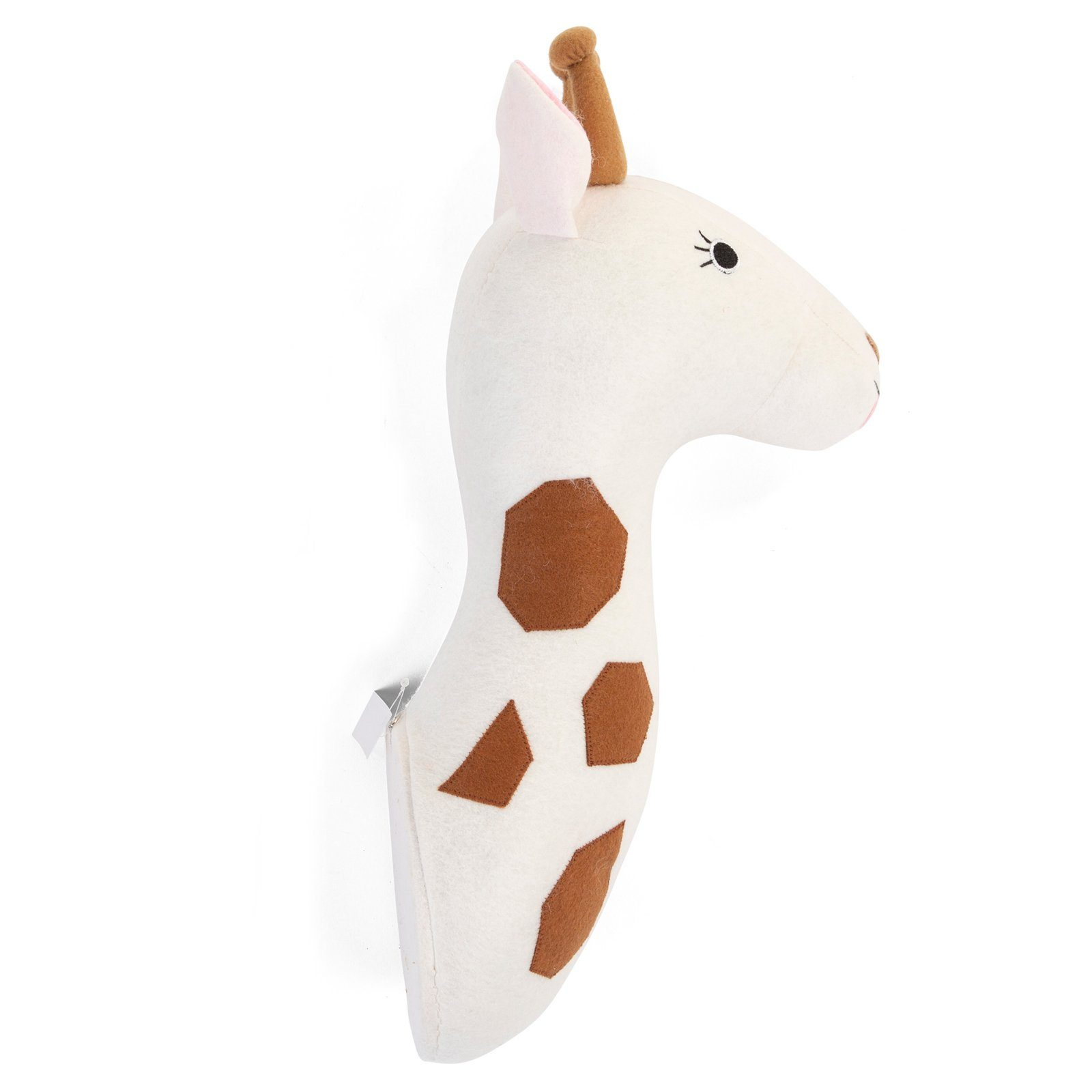 Felt Giraffe Head Wall Deco Nursery Decor Childhome