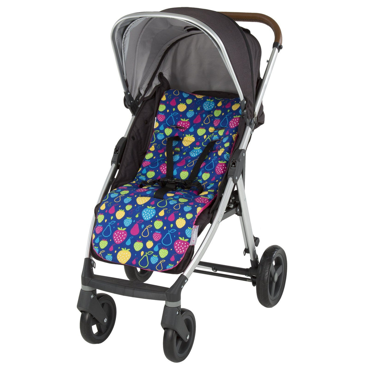 comfi cush memory foam stroller cushion fruity tutti