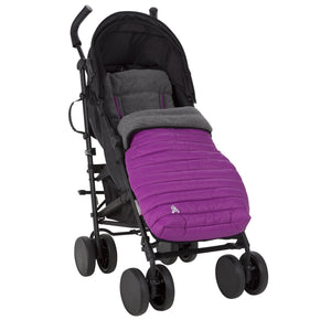 Comfi-Snug 2in1 Footmuff & Liner - Grape On The Go cuddleco
