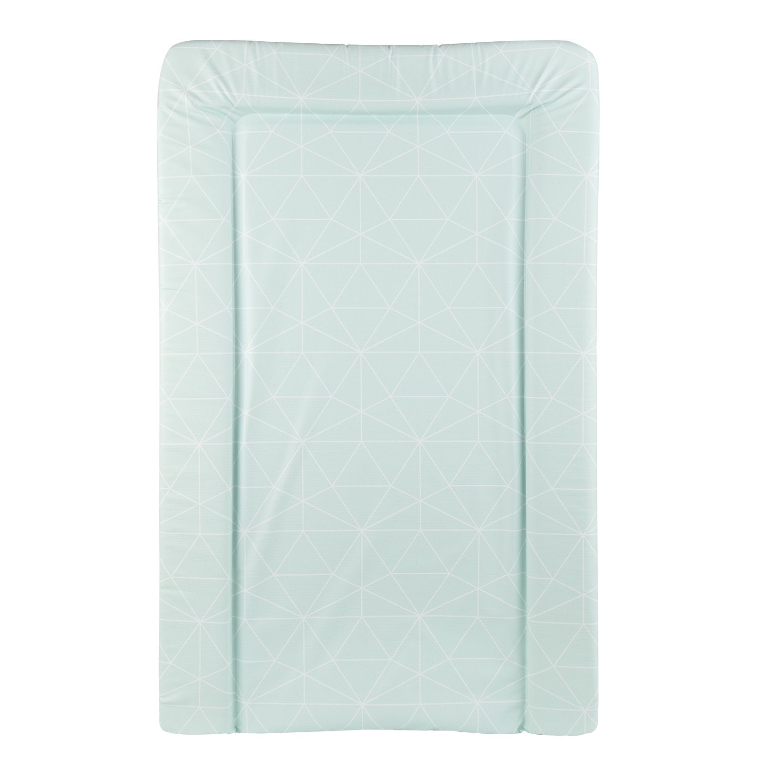 Changing Mat - Green Geo Nursery Decor CuddleCo