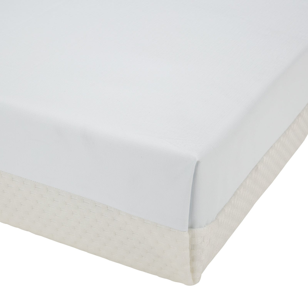 Harmony Hypo-Allergenic Bamboo Sprung Cot Mattress 120 x 60cm CuddleCo