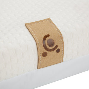 Lullaby Hypo-Allergenic Bamboo Foam Cot Bed Mattress 140 x 70cm CuddleCo