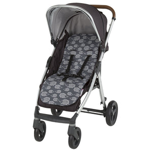 Comfi-Cush Memory Foam Stroller Liner - Hedgehogs On The Go cuddleco