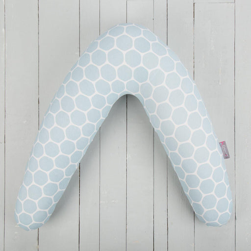 comfi mum memory foam v shaped support pillow honeycomb