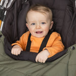 Load image into Gallery viewer, Comfi-Cape 2in1 Carrier Cape and Stroller Liner - Khaki On The Go cuddleco