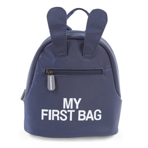 Kids My First Bag Navy Childhome