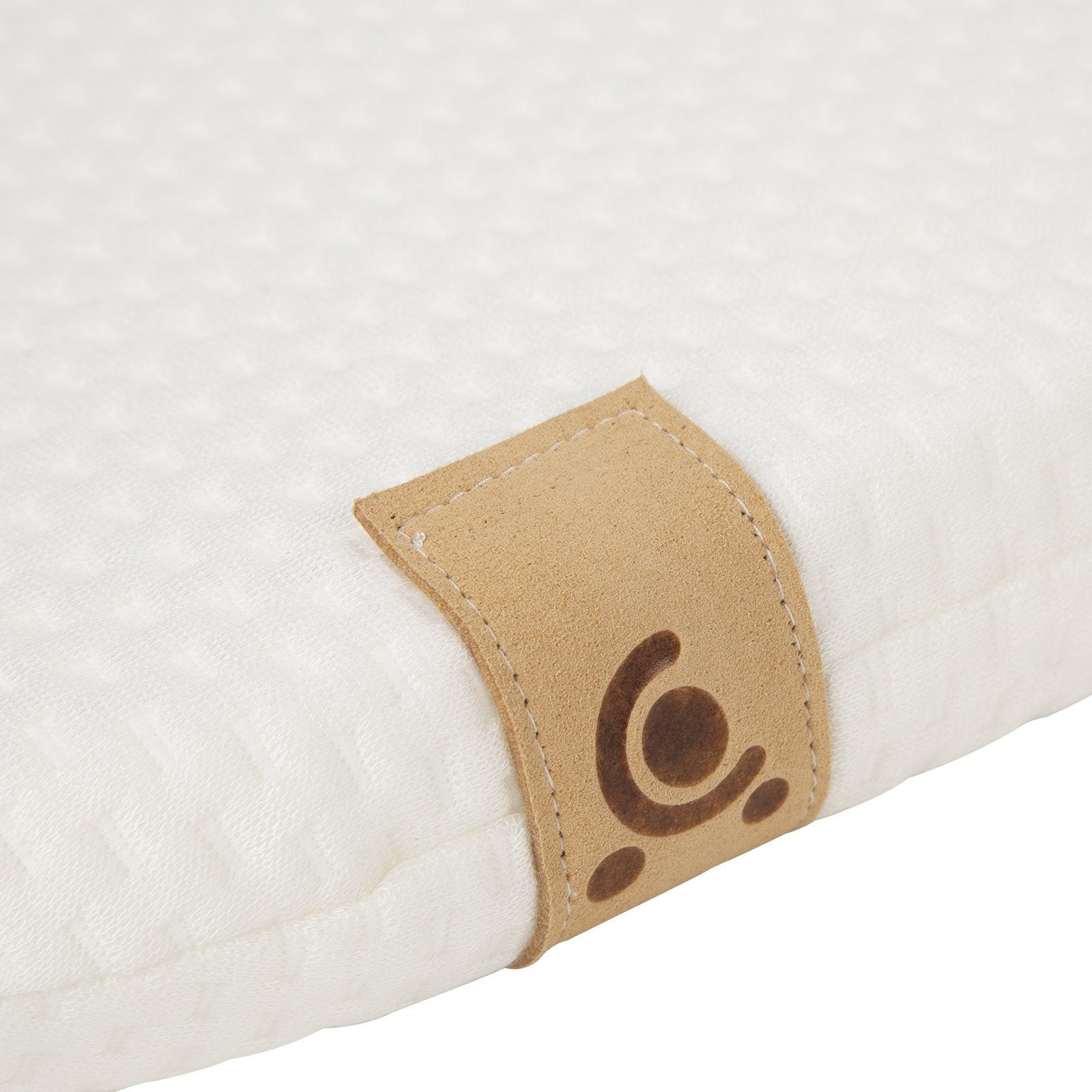 Little Me Hypo-Allergenic Bamboo Moses Basket Mattress 28 x 78cm CuddleCo