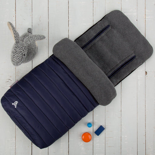 comfi snug 2in1 footmuff liner midnight blue