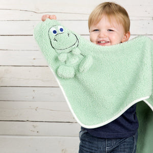 Comfi-Snuggle Blanket- Rocky the Dinosaur Nursery cuddleco