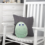 Load image into Gallery viewer, Comfi-Snuggle Pillow & Hand Warmer - Rocky the Dinosaur Nursery cuddleco