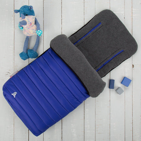 Comfi-Snug 2in1 Footmuff & Liner - Royal Blue